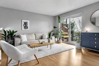 Lillesand - Pen og sentrumsnær 3 roms leilighet med sørvendt solrik terrasse
