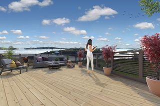 Prosjektert romslig enebolig med nydelig sjøutsikt i Holvika