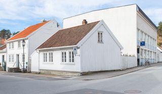 Enebolig på Støkkan/Mandal sentrum.