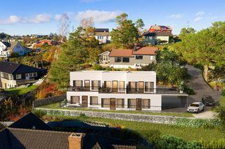 4 prosjekterte leiligheter med sjøutsikt / Beliggende i meget attraktivt område / 2 leiligheter solgt!