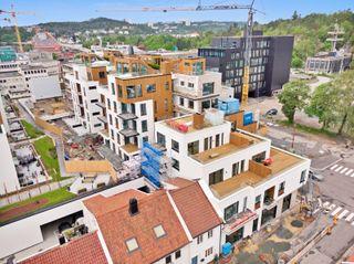 Byhaven trinn 2 - 54 NYE leiligheter i alle størrelser midt i byen (19 ledige) - visning etter avtale hele juli.
