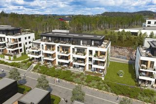 Nytt salgstrinn | Tønnevollskogen, Bygg B | 18 prosjekterte leiligheter med gode solforhold | Sentralt ved UiA