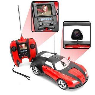 radiostyrt bil med kamera
