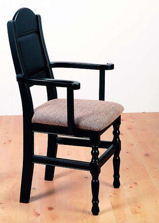 Herlig Solide stoler med armlene i heltre fra Skjåk møbler og hyttemøbler LG-65