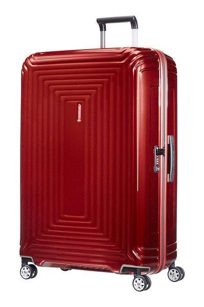 357d4a0a Neopulse, hard lett stor koffert XL 81cm/124L Metallic Red. Fri frakt. Rask  Levering!! (1/12)