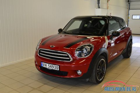 MINI Paceman Cooper D ALL4  2013, 58 000 km, kr 215 000,-
