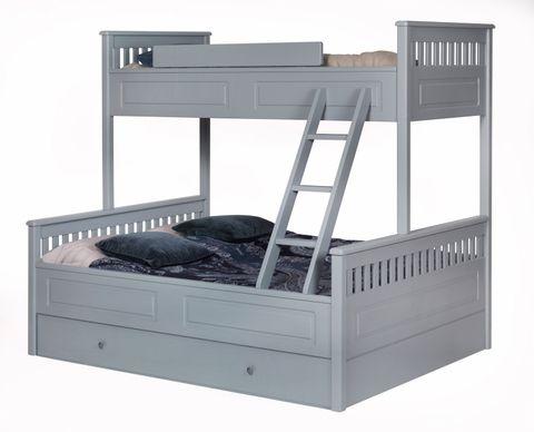 køyeseng med uttrekkbar seng
