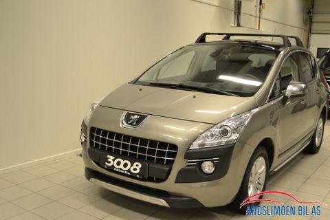 Peugeot 3008 1,6 Premium Pack HDi EMG 112hk  2011, 39000 km, kr 145000,-