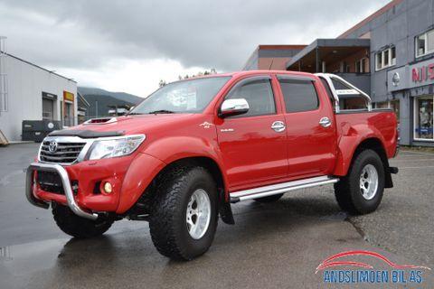 """Toyota HiLux D-4D 144hk Double Cab 4WD SR+ , Arctic Truck 37""""  2015, 30000 km, kr 469000,-"""