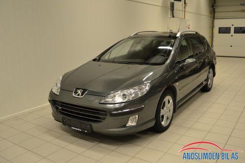Peugeot 407 2,2 HDI DPF ST Sport SW  2007, 255000 km, kr 58000,-