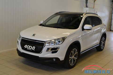 Peugeot 4008 Allure 4x4 1,6 e-HDI 115hk  2012, 109500 km, kr 189000,-