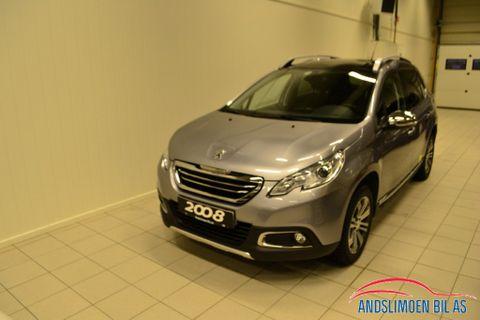 Peugeot 2008 Allure 1,2 PureTech 110hk  2015, 51000 km, kr 189000,-
