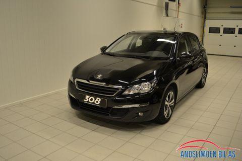 Peugeot 308 1,6 HDi 92hk Active  2014, 50000 km, kr 145000,-