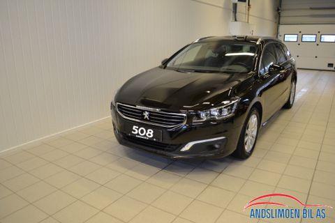 Peugeot 508 SW Allure Business 1.6 e-HDi 115hk  2015, 57000 km, kr 230000,-