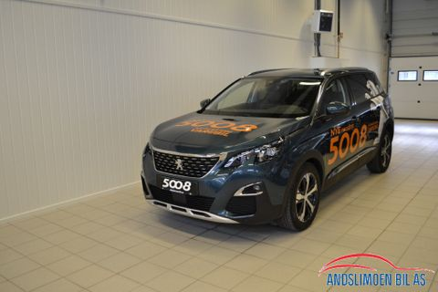 Peugeot 5008 1,6 BlueHDI 120hk  Automat Allure Mester ,mye utstyr,  2017, 9000 km, kr 309000,-