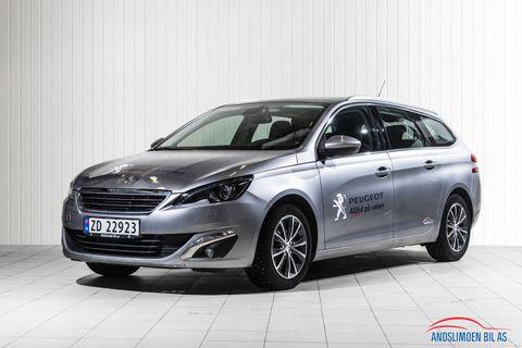 Peugeot 308 SW 1,2 PureTech 110hk Allure , Blue Line,  2017, 25000 km, kr 229000,-