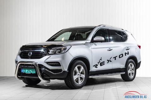 Ssangyong Rexton 2,2 181hk 4WD Premium aut ,topp utstyrt,  2018, 8000 km, kr 529000,-