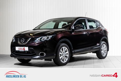 Nissan Qashqai 1,2 DIG-T 115 Acenta Xtronic MEGET LAV KM, Automatgir  2016, 8200 km, kr 259000,-