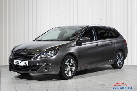 Peugeot 308 SW 1,2 PureTech 110hk Active  2016, 68500 km, kr 185000,-