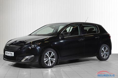 Peugeot 308 1,6 e-HDI 115hk Allure  2013, 68000 km, kr 139000,-