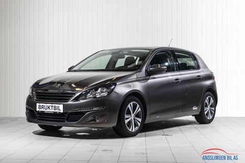 Peugeot 308 1,6 BlueHDi 100hk Active  2016, 53000 km, kr 159000,-