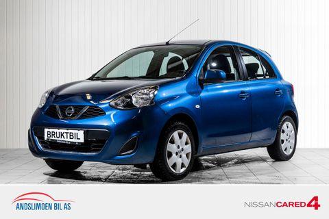 Nissan Micra 1,2 80hk Visia  2015, 47527 km, kr 109000,-