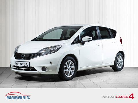 Nissan Note 1,5 dCi 90hk Acenta Plus Tech Pack , Lav km,  2016, 34500 km, kr 139000,-