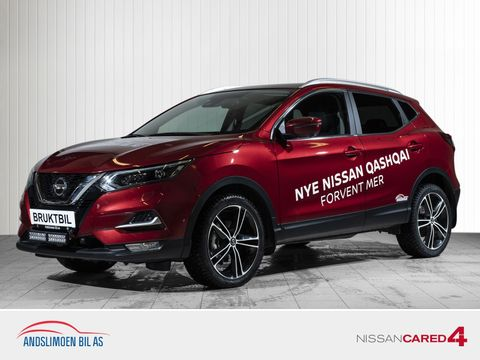 Nissan Qashqai 1,3 DIG-T 160 Tekna aut Ledbar, hengerfeste  2019, 8000 km, kr 379000,-
