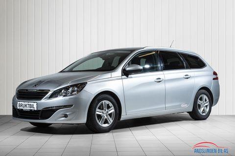 Peugeot 308 SW 1,2 PureTech 130hk Active Business aut , Automatgir,  2016, 69906 km, kr 209000,-