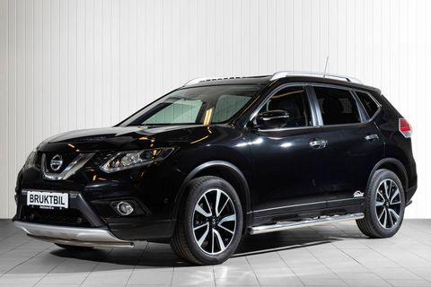 Nissan X-Trail dCi 130hk Tekna 4WD 7s , 7 seter,  2016, 89000 km, kr 319000,-