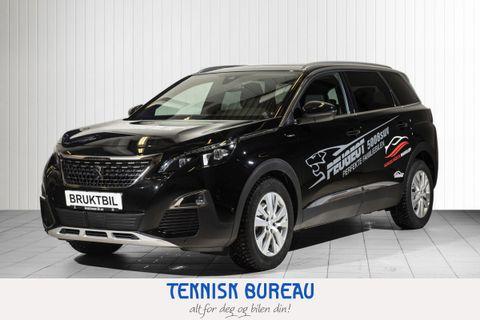 Peugeot 5008 GT Line 1,5 BlueHDi 130hk aut , webasto, krok,  2019, 11000 km, kr 469000,-