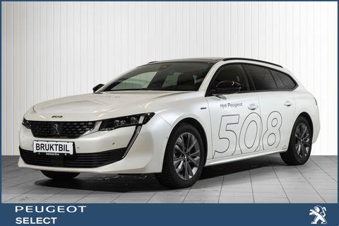 Peugeot 508 SW GT Line 1,6 THP 180hk aut  2019, 8310 km, kr 479000,-
