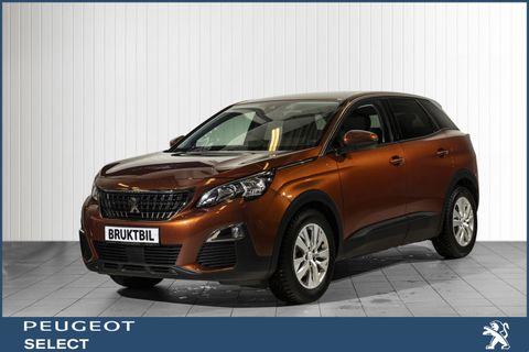 Peugeot 3008 Active 1,2 Bensin, 130hk aut, Navi, Ryggekamera.  2018, 18000 km, kr 289000,-