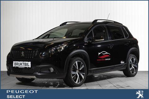 Peugeot 2008 GT-Line 1,2 PureTech 110hk aut  2019, 9414 km, kr 279000,-
