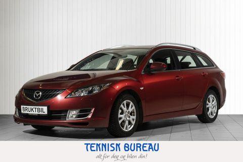 Mazda 6 2,0 D 140hk Advance  2008, 150421 km, kr 89000,-