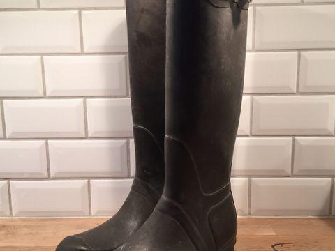 d726e544 Hunter støvler til salgs i brun, str. 40/41