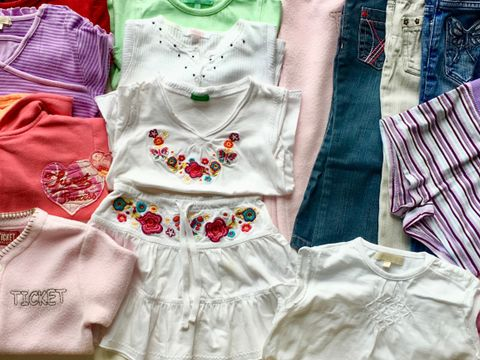 6b561197 Klespakke jente baby klær str. 92 selges 350,-kr