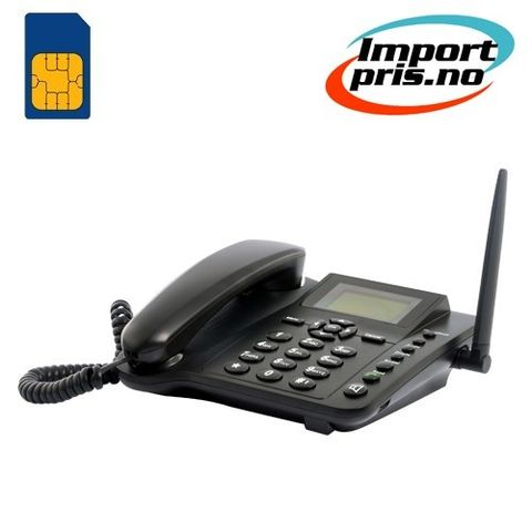 Trådløs Gsm Mobiltelefon Og Sms Deskphone Perfekt Til Kontoret Eller Hjemme