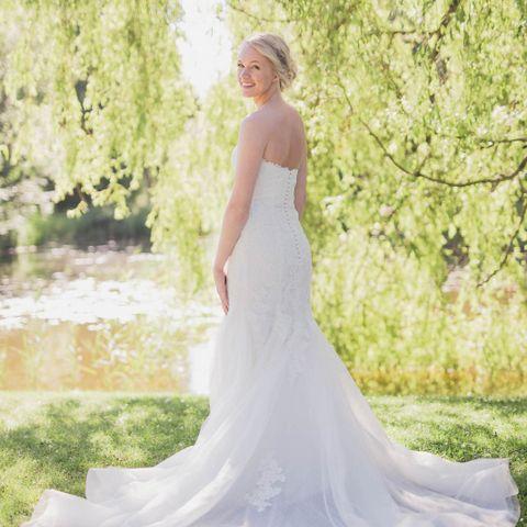 96b1f429 Ny pris - Pronovias brudekjole str 34/36
