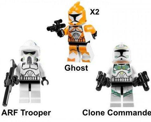 Lego Star Wars 7913 Clone Trooper Battle Pack Finn
