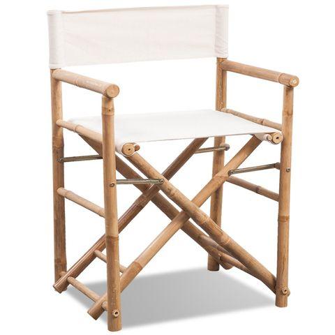2stk Sammenleggbar Bambus Stol (41498) | FINN.no