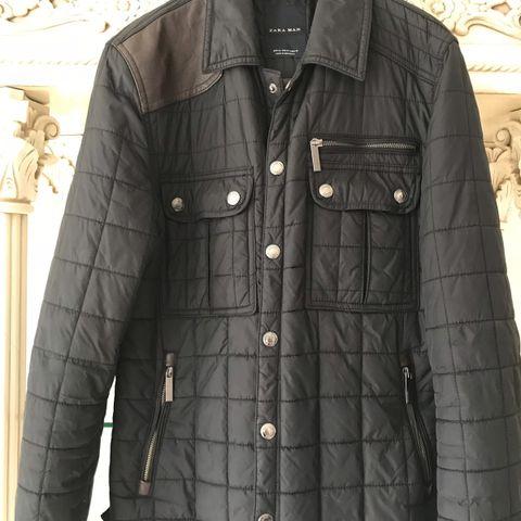 Ralph Lauren Men's Leather Patch Quilted jakke | FINN.no