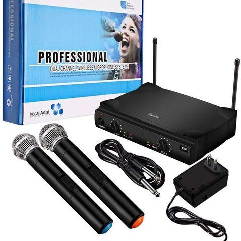2 trådløse 48-kanals pro mikrofon e697d9a598fa3