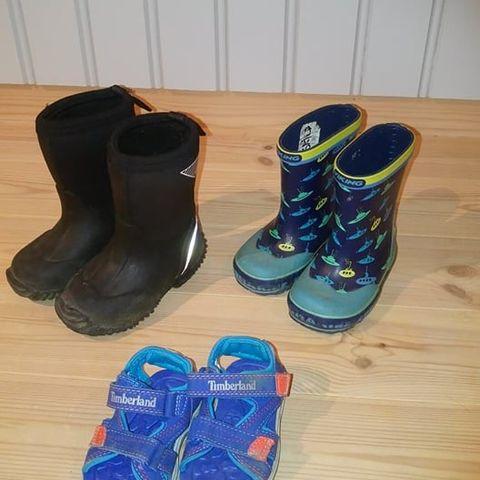 Sko, tøfler og støvler til barn str 21 til str 27   FINN.no