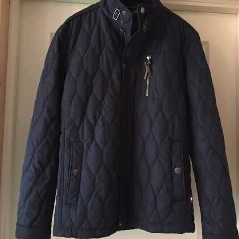 Mørk blå Jean Paul jakke str. XL | FINN.no