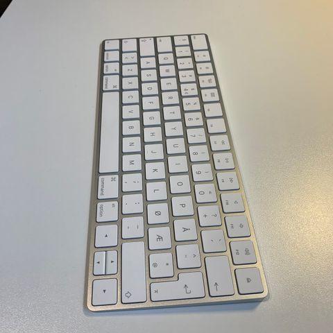 Apple Magic Keyboard silver   FINN.no