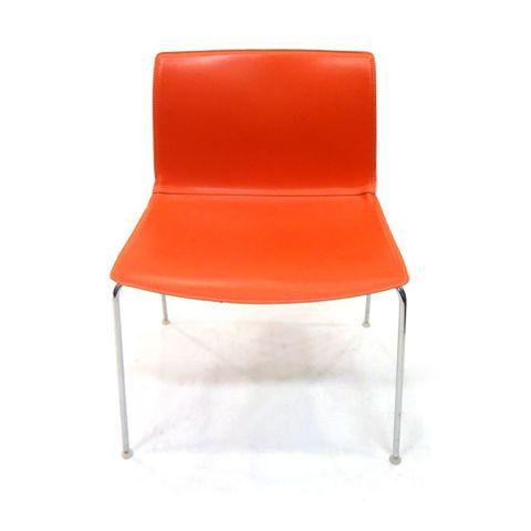 Danerka Avanti stol (Rødoransje) – Scandinavian Office as