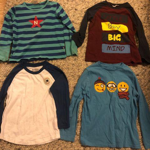 71a1e020 Kule pent brukte gensre til gutt str 6-7 år. Converse, Novastar,