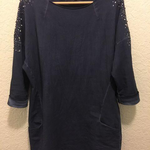 0c1e91d8ab9e Behagelig kjole med detaljer