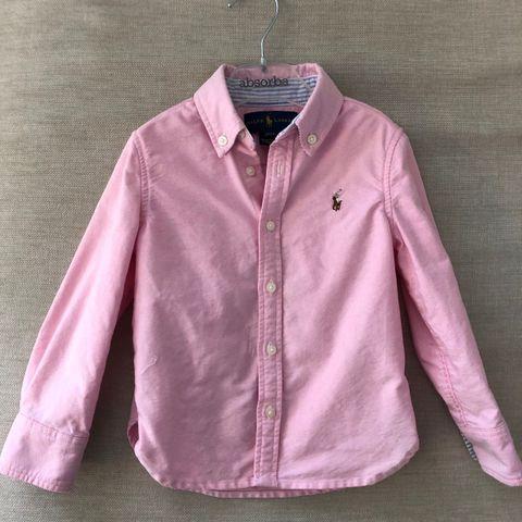 43dcdd2b64ee Ralph Lauren skjorte til jentebarn i alder 1-3 år.